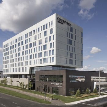 Marriott hotel, Lebourgneuf, Quebec