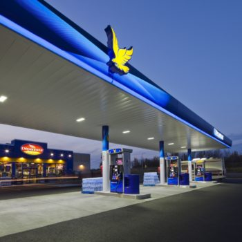 Ultramar service station