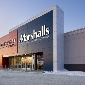 Marshall's et Homesense, Québec