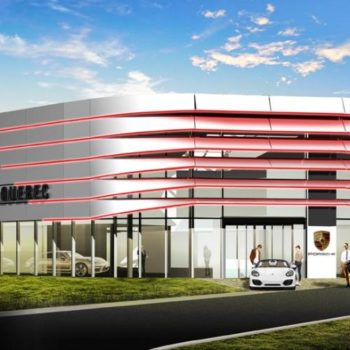 Centre Porsche Québec – Nouveau bâtiment