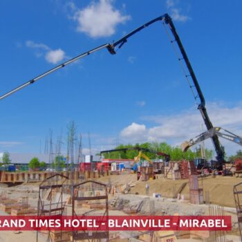 Grand Times Hotel, Blainville – Construction site